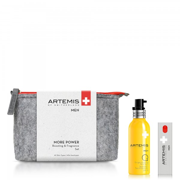 ARTEMIS MEN MORE POWER Boosting & Fragrance Set