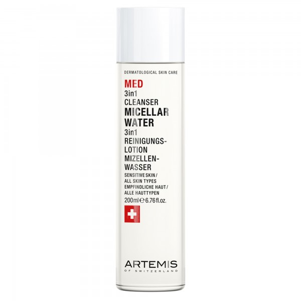 ARTEMIS MED 3in1 Cleanser Micellar Water