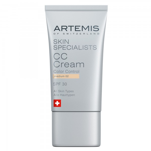 ARTEMIS SKIN SPECIALISTS CC Cream Medium